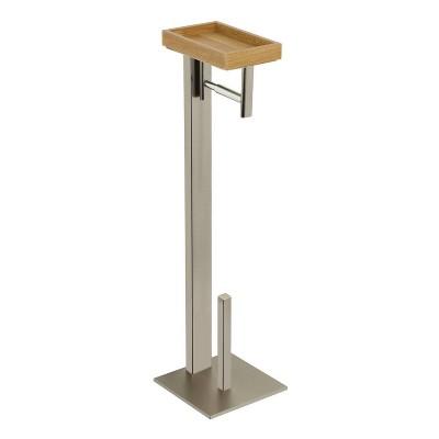 Edenscape Freestanding Toilet Paper Holder with Storage Shelf - Kingston Brass