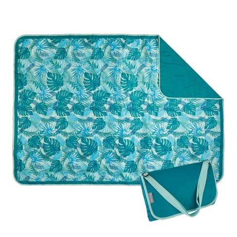 ECR4Kids Lightspeed Outdoors XL Outdoor Folding Blanket, Portable Beach Blanket, Yucca Frond (2-Pack) - image 1 of 4