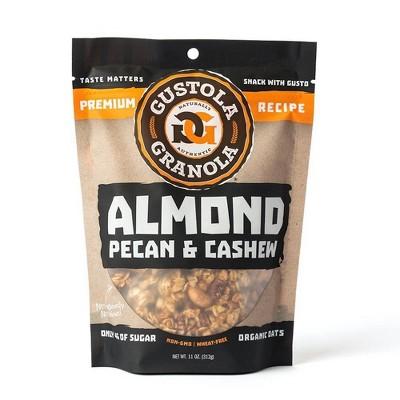 Gustola Granola Almond Pecan Cashew Granola - 11oz