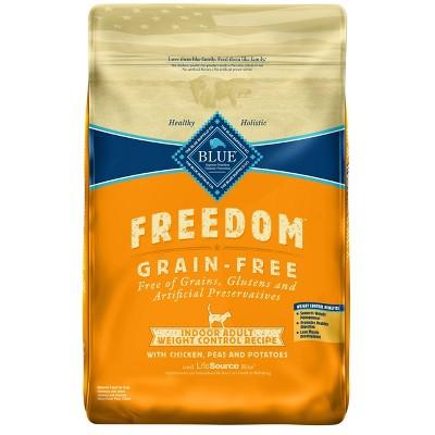 Cat Food: Blue Buffalo Freedom Indoor Weight Control
