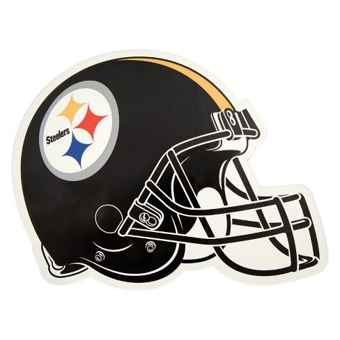 7836cae89 NFL Pittsburgh Steelers Large Outdoor Helmet Decal   Target