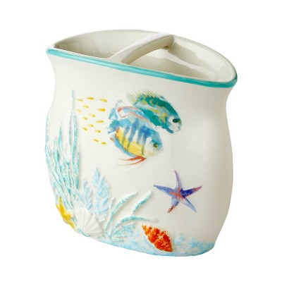 Ocean Watercolor Toothbrush Holder - SKL Home