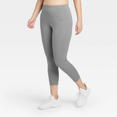 "Women's Sculpted High-Waisted 7/8 Leggings 24"" - All in Motion™"
