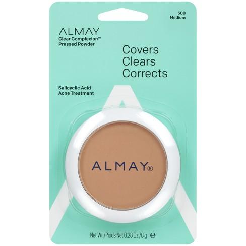 Almay Clear Complexion Pressed Powder 300 Medium - 0.28oz - image 1 of 3