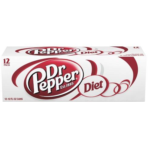 Diet Dr Pepper - 12pk/12 fl oz Cans - image 1 of 3