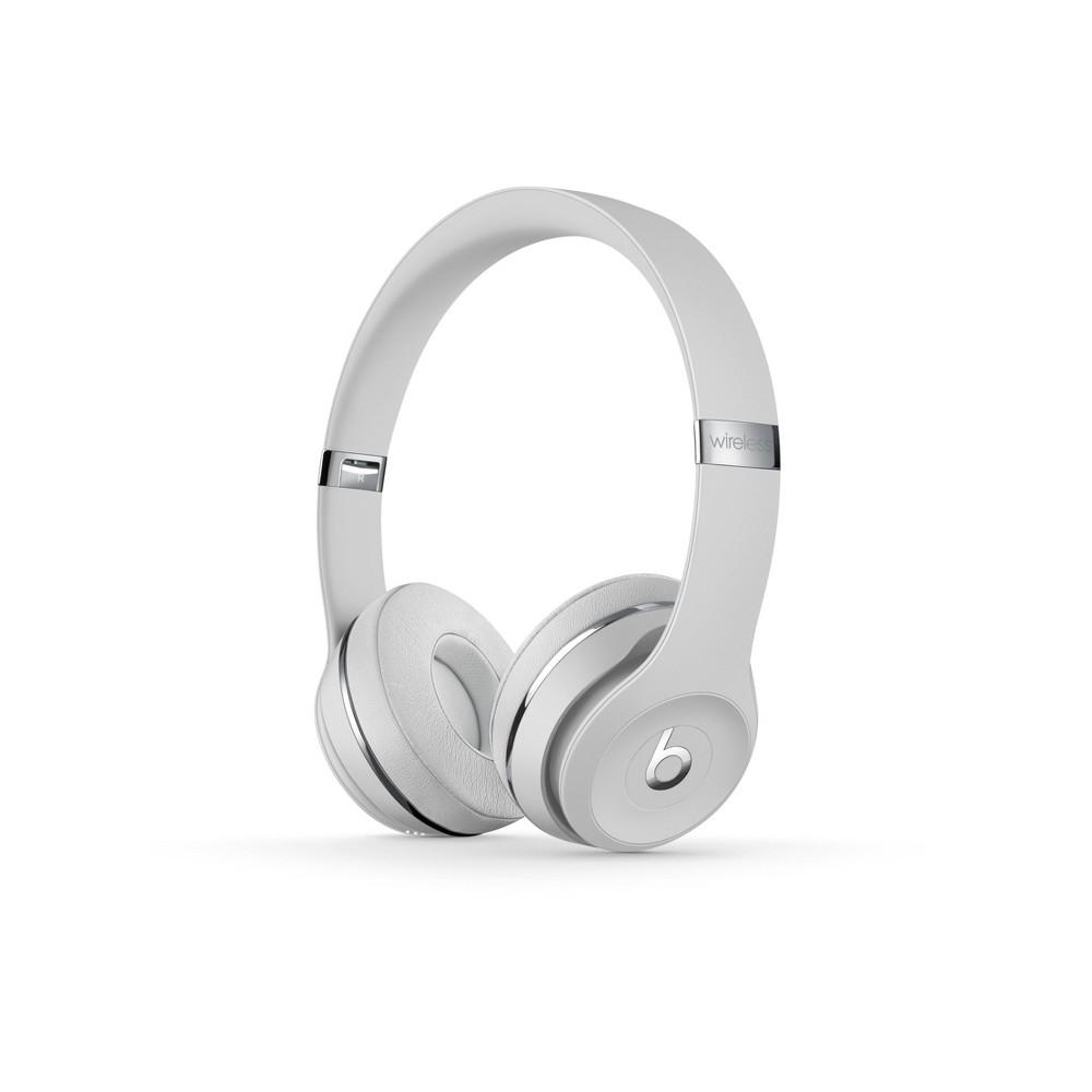 Beats Solo³ Wireless On-Ear Headphones - Satin Silver
