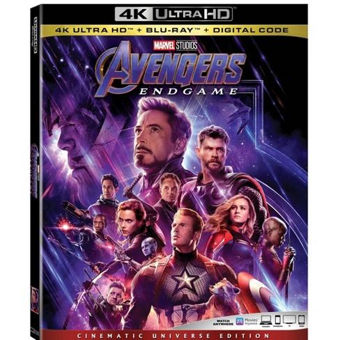 Avengers Endgame (4K/UHD + Blu-Ray + Digital) - image 1 of 2