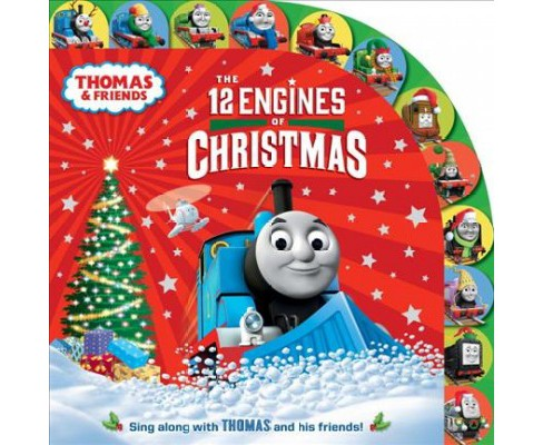 12 Engines of Christmas (Hardcover) - image 1 of 1