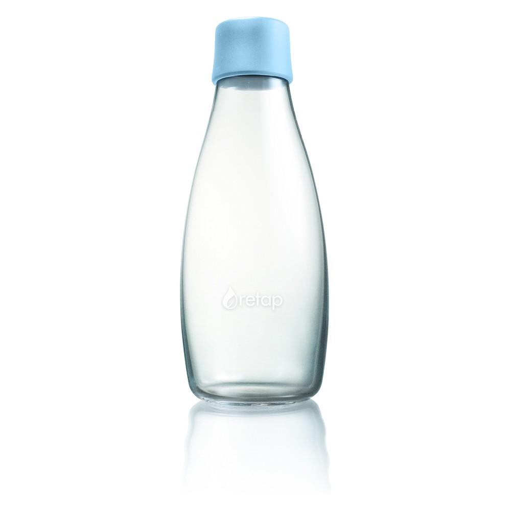 Retap Glass Water Bottle 17oz - Baby Blue