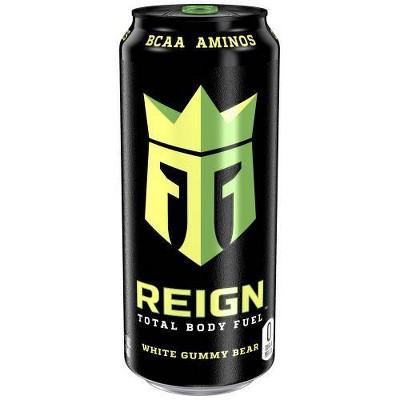 Reign White Gummy Bear Energy Drink - 16 fl oz Can