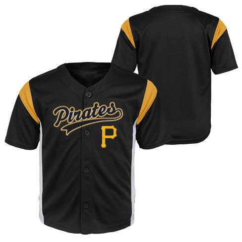 sports shoes 801cc f89fb Pittsburgh Pirates Toddler Boys' Short Sleeve Button-Down Jersey - 2T