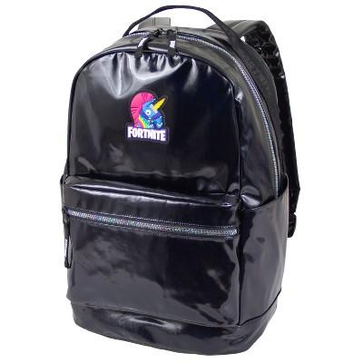"""Fortnite 18"""" Kids' Stamped Backpack - Black"""