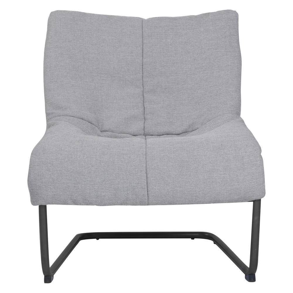 Style Alex Lounge Chair Light Gray - Serta