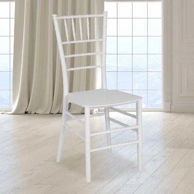Flash Furniture HERCULES Series Resin Stackable Chiavari Chair