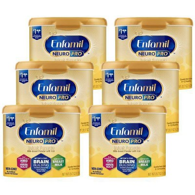 Enfamil NeuroPro Infant Formula Powder Tubs - 20.7oz/6pk Each