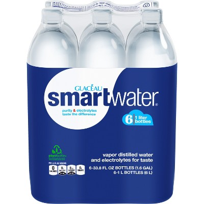 smartwater - 6pk/1 L Bottles