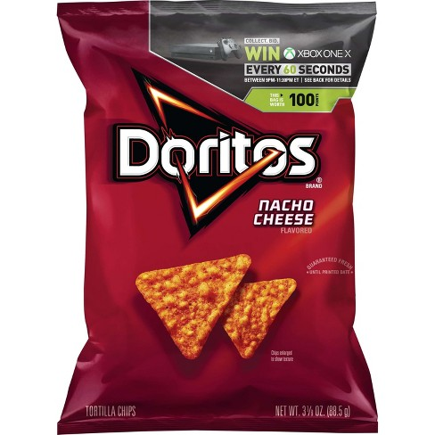Doritos Nacho Cheese Tortilla Chips - 3.38oz - image 1 of 4