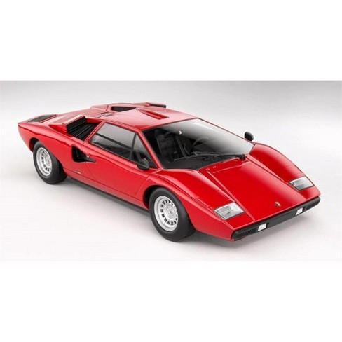 Lamborghini Countach Lp400 Red 1 18 Diecast Model Car By Kyosho Target