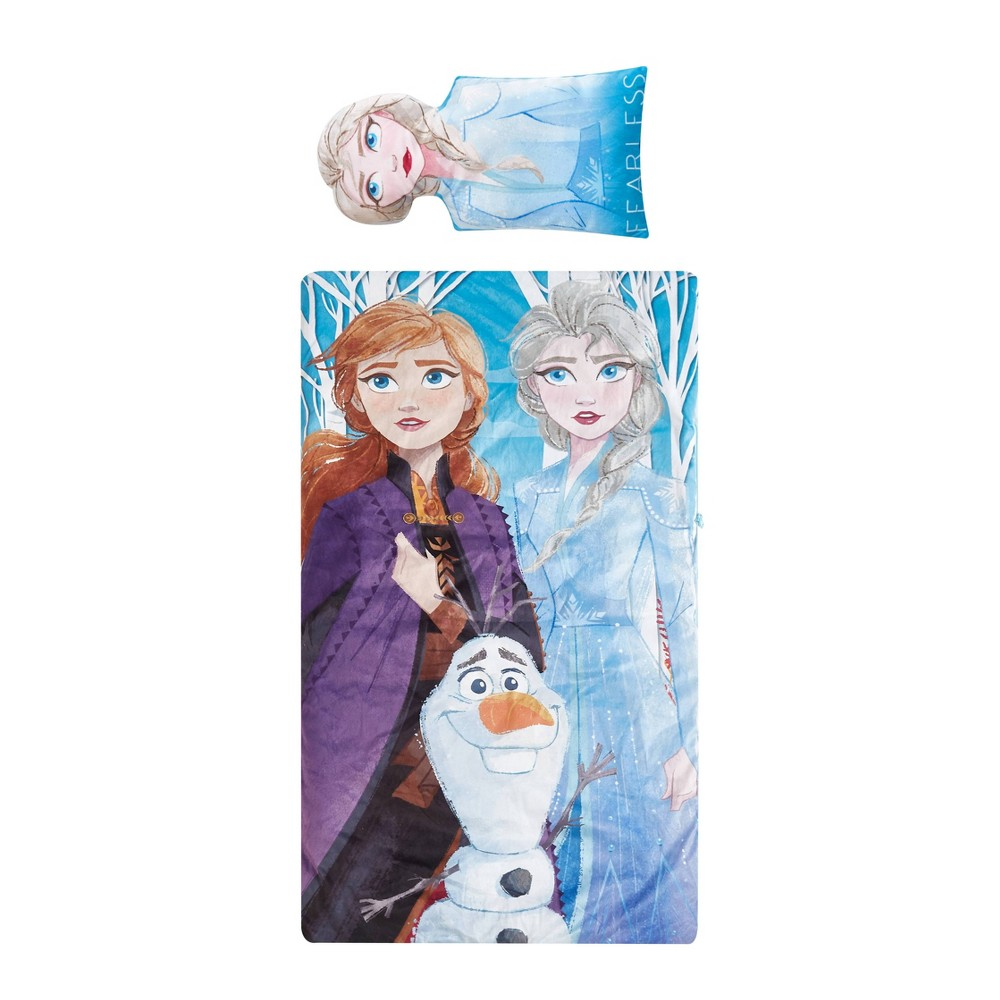 Image of Frozen 2 Sleeping Bag Blue