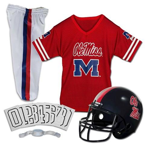 the best attitude e7261 d07e2 Franklin Sports Team Licensed Ole Miss Rebels Deluxe Football Uniform Set