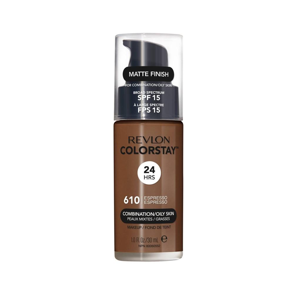 Revlon ColorStay Liquid Makeup Combination/Oily 610 Espresso - 1.0 fl oz