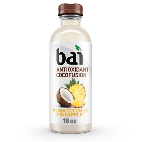 Bai Puna Coconut Pineapple Antioxidant Water - 18 fl oz Bottle - image 1 of 4