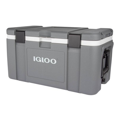 Igloo Mission Hard Sided 50qt Portable Cooler - Space Gray