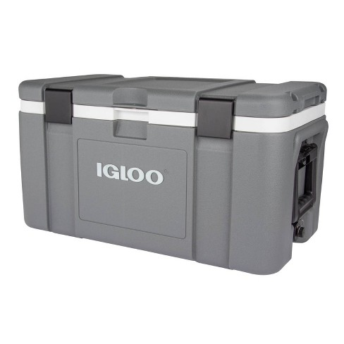 Igloo Mission Hard Sided 50qt Portable Cooler - Space Gray - image 1 of 4