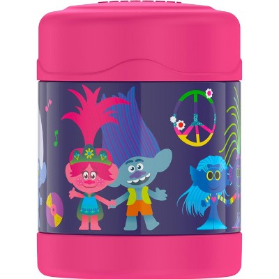 THERMOS FUNTAINER 10 Ounce Stainless Steel Kids Food Jar, Trolls
