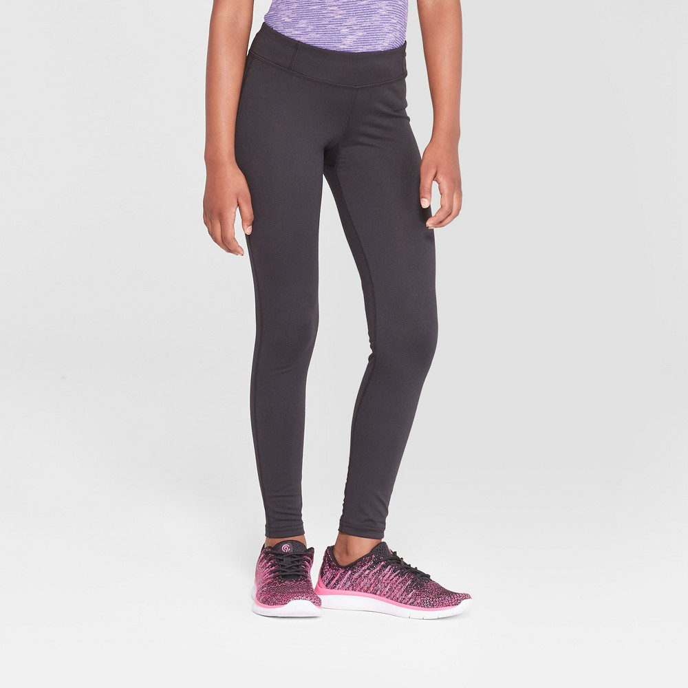 Girls' Performance Leggings C9 Champion - Black S