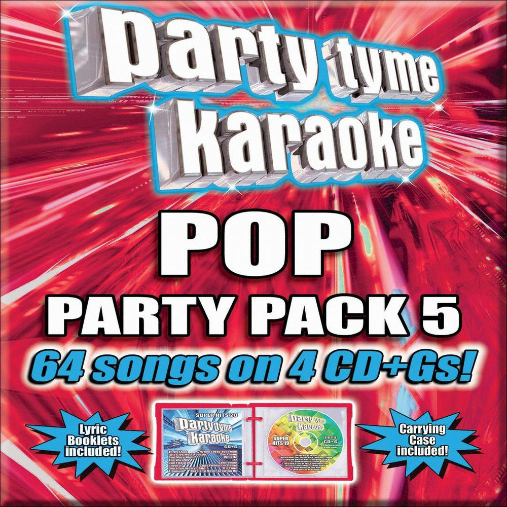 Karaoke - Party Tyme Karaoke: Pop Party Pack 5 (CD)