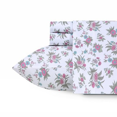 Softest Everyday Comfort 400 Sateen | 100% Cotton Printed Sheet Set | Deep Pockets - California Design Den