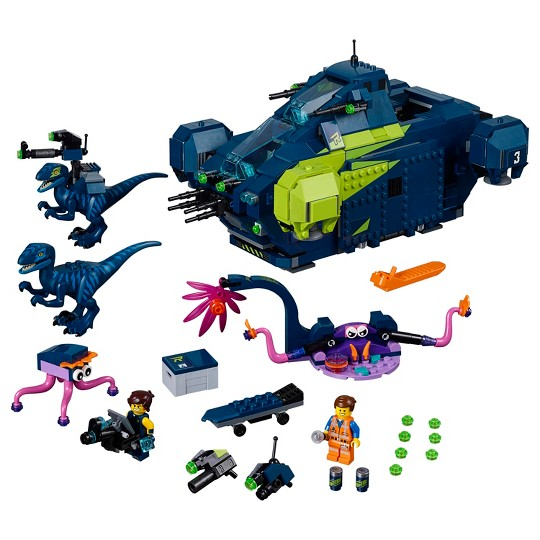 THE LEGO MOVIE 2 Rex's Rexplorer! 70835 image number null