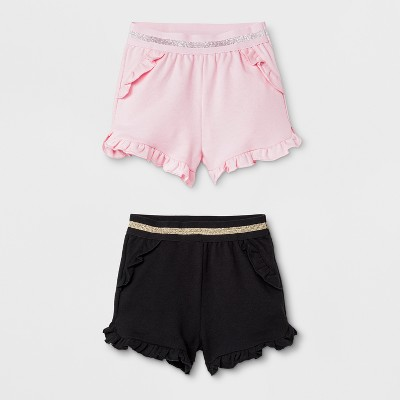 Baby Girls' Trouser Shorts - Cat & Jack™ Pink 6-9M