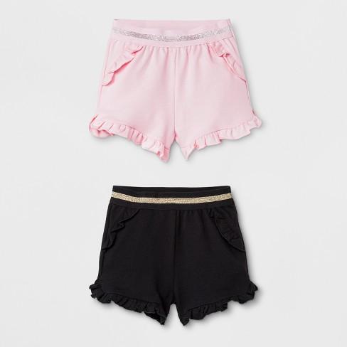 7bf35b65fa86 Baby Girls  Trouser Shorts - Cat   Jack™ Pink 3-6M   Target