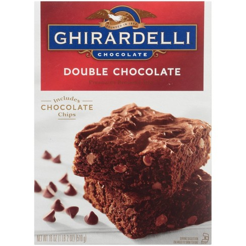 Ghirardelli Double Chocolate Brownie Mix - 18oz - image 1 of 4