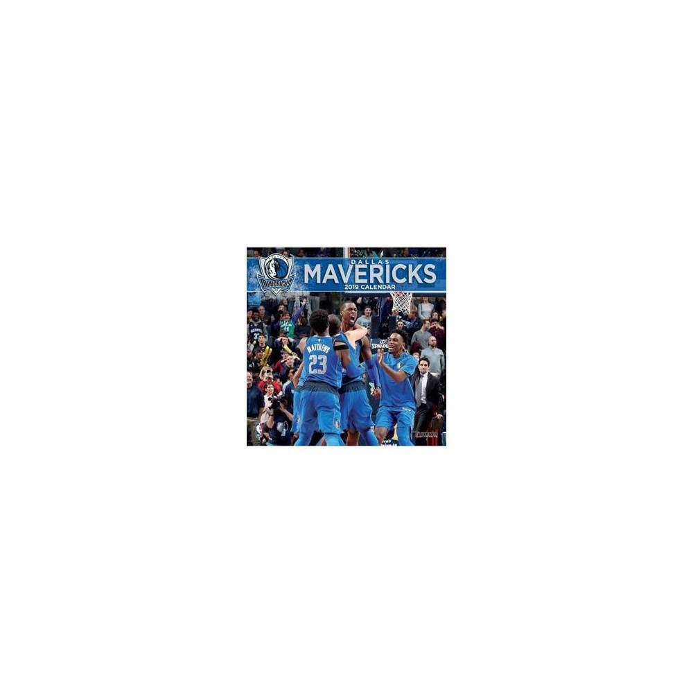 Dallas Mavericks 2019 Calendar - (Paperback)