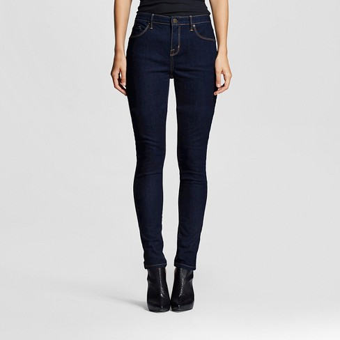 Women's Mid-rise Jeans (Curvy Fit) - Mossimo™ Rinse Wash 2 - image 1 of 6