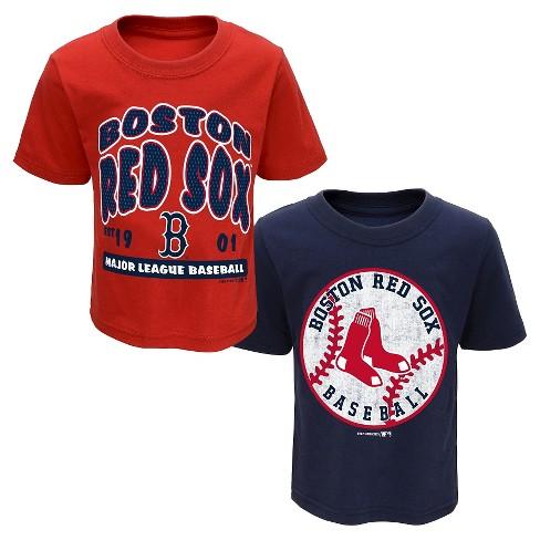 b1f08b1e6 Boston Red Sox Boys' 2pk Toddler T-Shirt 3T : Target
