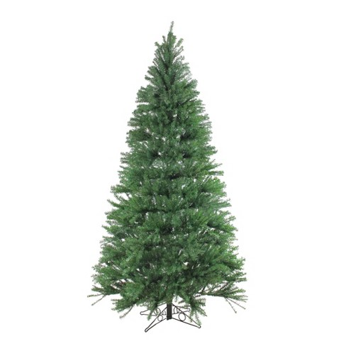 Santa's Own 7.5' Unlit Artificial Christmas Tree Slim Alexandria Pine - image 1 of 3