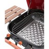 Americana Swinger 4101 Charcoal Grill with Side Table - Red - Meco - image 2 of 3