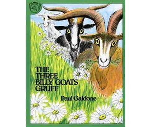 Three Billy Goats Gruff (Paperback) (Paul Galdone) - image 1 of 1