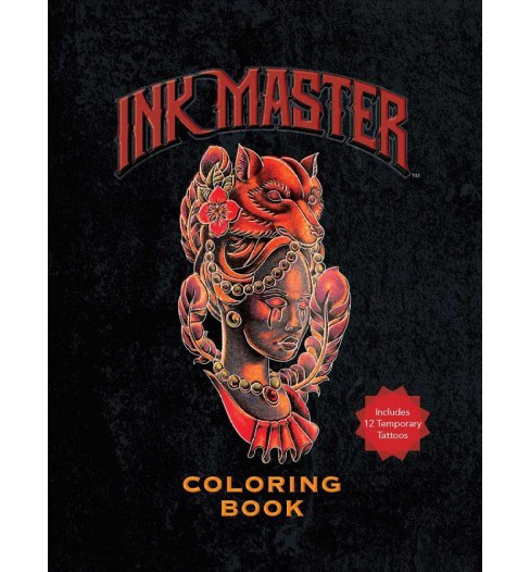 Ink Master Coloring Book -  (Paperback) - image 1 of 1