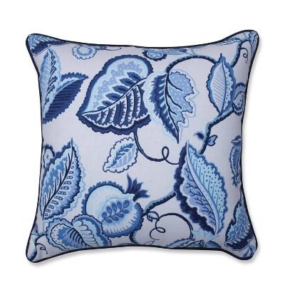 Fantasy Fleur Ocean Throw Pillow - Pillow Perfect