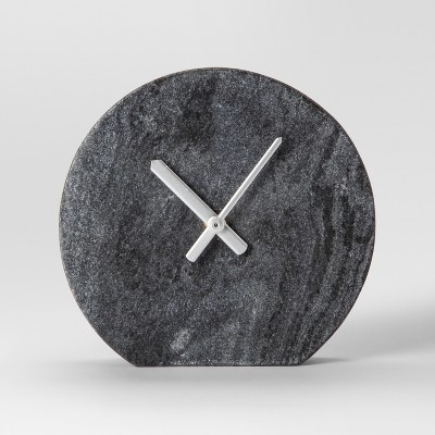 Marble Clock - Gray - Project 62™