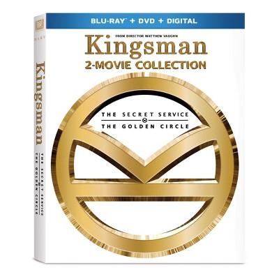 Kingsman 1&2 (Blu-ray + DVD + Digital)