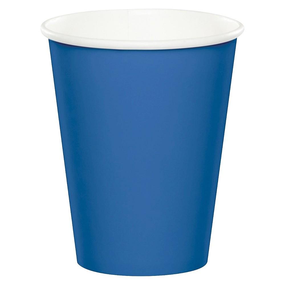 24ct Bermuda Blue Disposable Cups Cheap