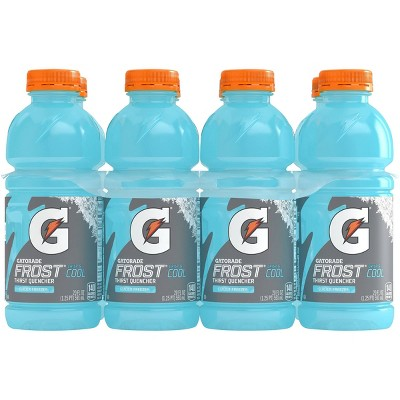 Gatorade Frost Glacier Freeze Sports Drink - 8pk/20 fl oz Bottles