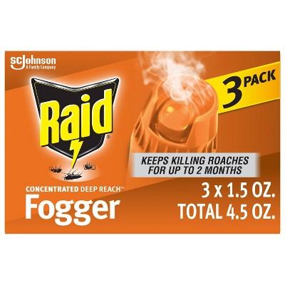 Raid Fogger Concentrated - 3pk/1.05oz