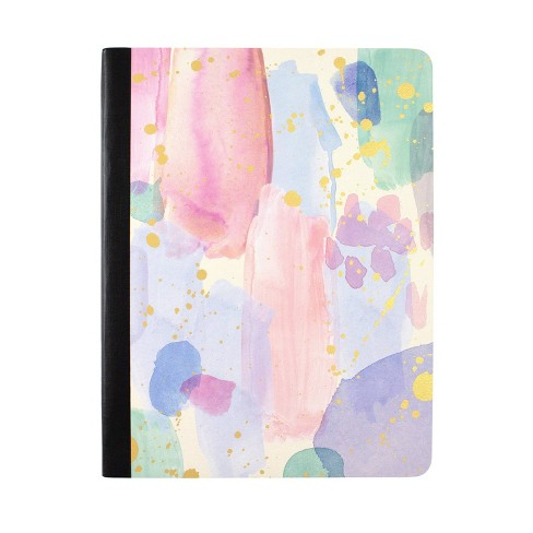 Composition Notebook College Ruled Brushstroke Pastel - greenroom - image 1 of 3
